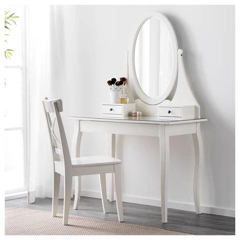 white desk with mirror hemnes dressing table with mirror white 100x50 cm ikea