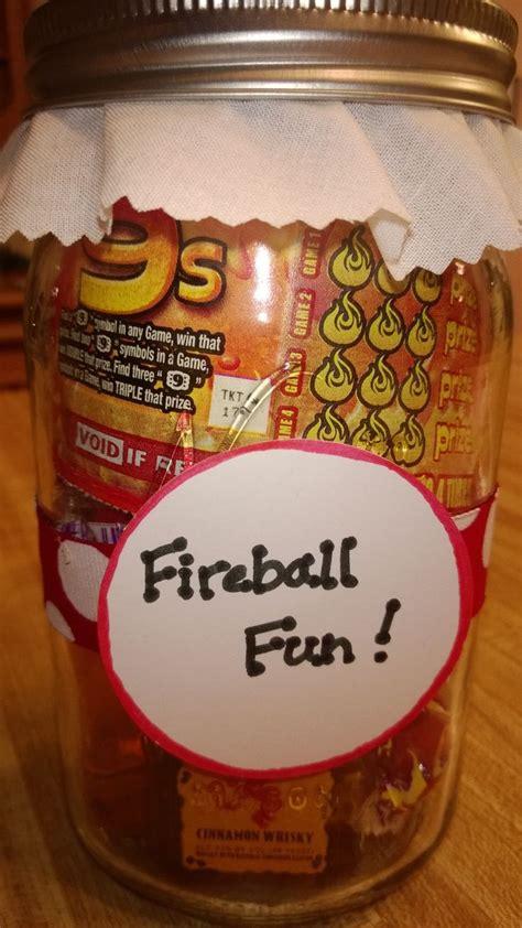 fireball fun jar yankee swap fun gift ideas mason
