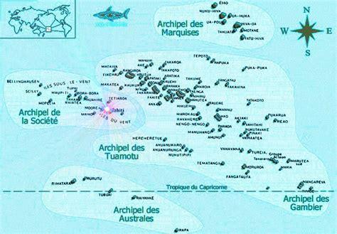 infos sur carte geographique de la polynesie arts et voyages