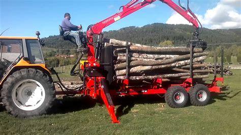 siege tracteur remorque et grue forestière agriduarte avec siège sur
