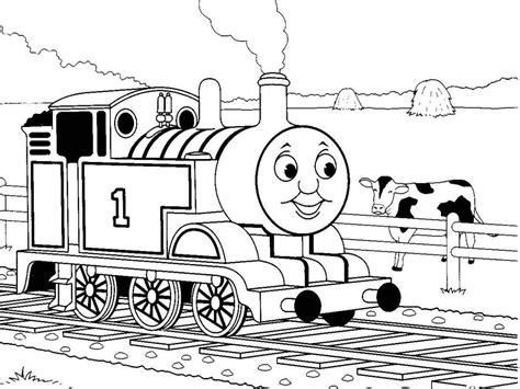 Excellent Hiro The Train Coloring Pages How To Draw Train