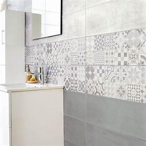 Carreaux De Ciment Salle De Bain : embellir sa salle de bains avec des carreaux de ciment ~ Melissatoandfro.com Idées de Décoration