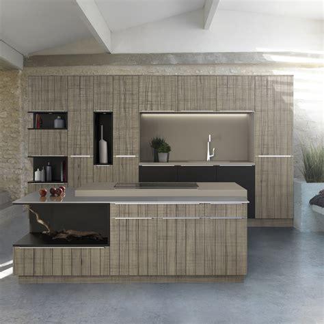 cuisine bois laqué tendance une cuisine bois et laque décoration