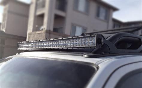 roof rack light bar light bar roof mount xterra 05 15 offroadgorilla