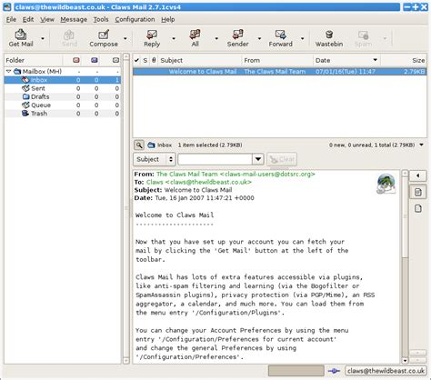 claws mail gratissoftwarenl downloads