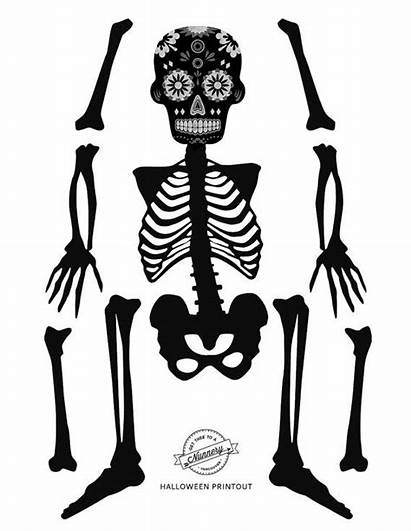 Paper Halloween Skeleton Puppet Diy Doll Dolls