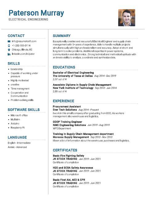 electrical engineering resume sample resumekraft