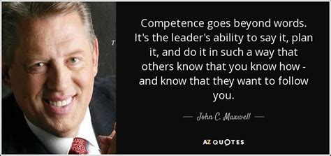 john  maxwell quote competence   words