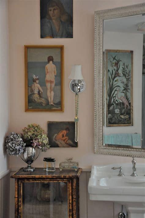 pink bathroom preview velvet linen