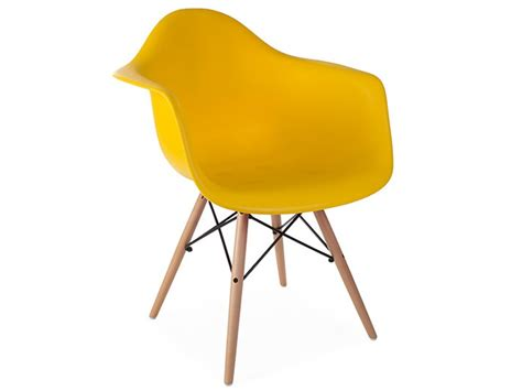 chaise jaune moutarde chaise daw jaune moutarde