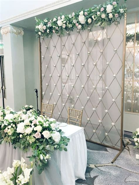 Diy Backdrops 10x10 by ширма со свечами Stage Wedding Decorations Gold