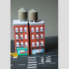Printable, Foldable Buildings A La New York, Paris, And