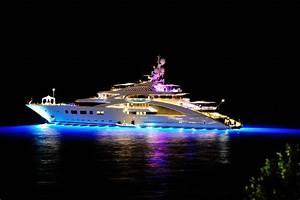 superyacht ace yacht mega yacht yachts night super yacht ...