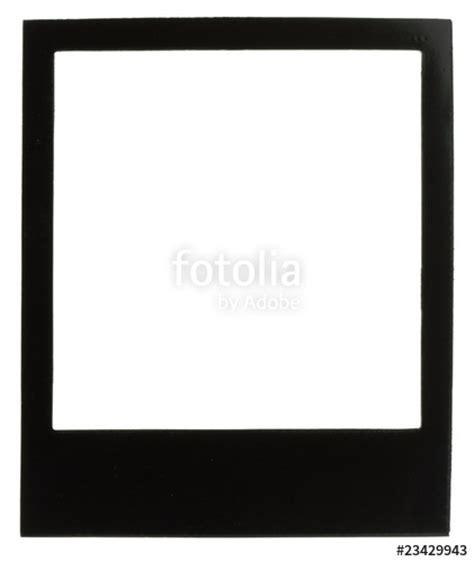 quot cadre photo polaro 239 d noir fond blanc quot photo libre de droits sur la banque d images fotolia