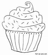 Muffin Coloring Cake Printable Birthday Blueberry Muffins Embroidery Adults Colouring Cupcake Cakes Sheet Patterns Popular Pdf Coloringhome sketch template