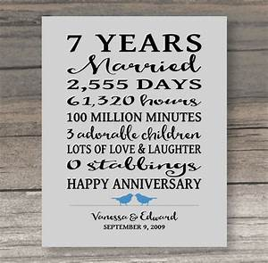 7 year wedding anniversary gifts for him awesome 7 year wedding