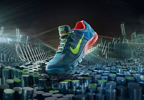 Nike Shoe Print Ads Design 15