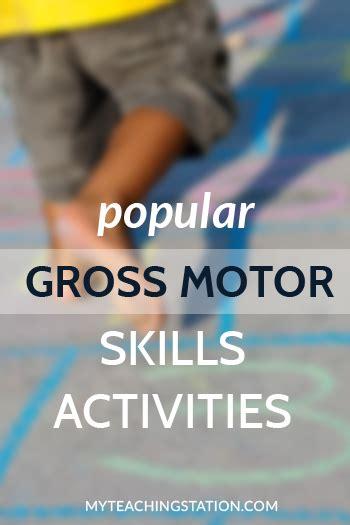 popular preschooler and kindergarten gross motor skills 814   Kids Popular Gross Motor Skills Activities