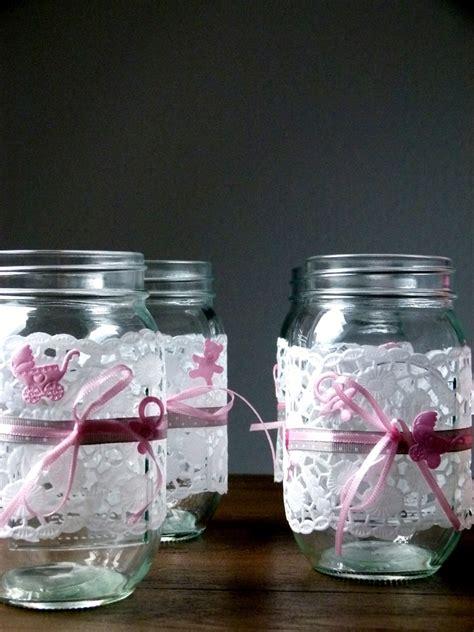 Diy Blumendeko Für Die Taufe Im Einmachglas