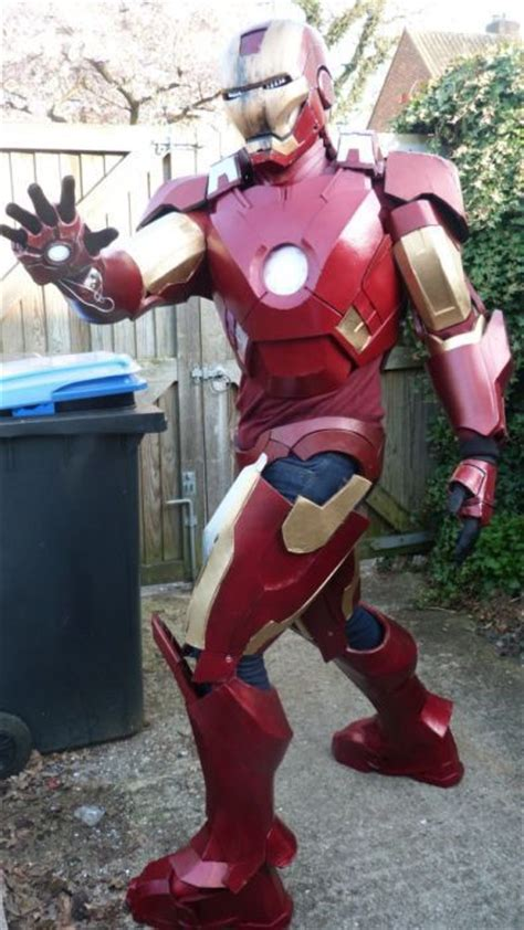 totally cool homemade iron man suit  pics izismilecom