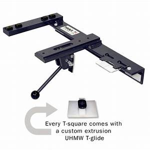 Euro-Style Adjustable T-Square For Sliding Table Saws