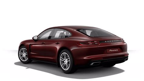 red porsche panamera 2017 new 2017 porsche panamera exterior color options