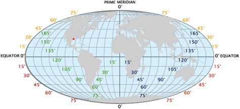 latitude and longitude facts and map worldatlas