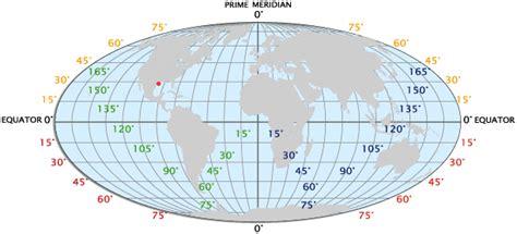 Latitude And Longitude  Facts And Map Worldatlascom