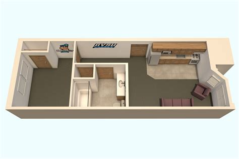 single level floor plans secchia housing students grand valley state