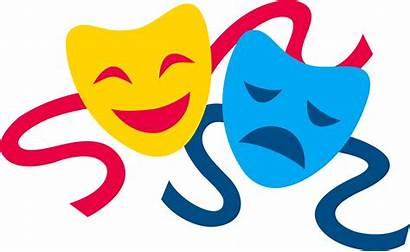 Masks Comedy Tragedy Clip Theater Sweetclipart Act