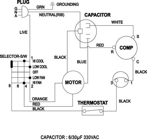 wrg 1757 aircon wiring diagram