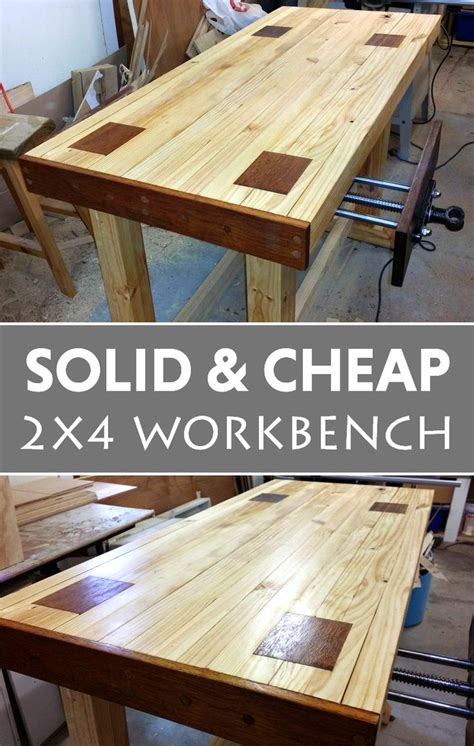 solid  cheap  workbench woodworking bench plans