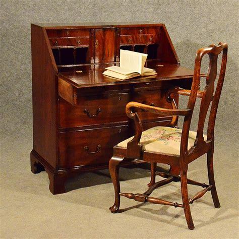 bureau writing desk antique mahogany bureau writing study desk antiques