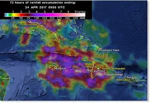 Extreme amounts of rain hit Dominican Republic