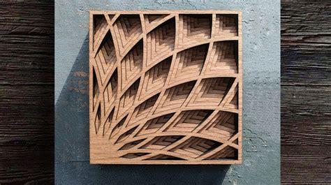 art deco shadow box scroll  woodworking crafts