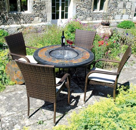 durango garden pit set table and 4