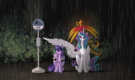 my neighbor celestia my little pony friendship is magic