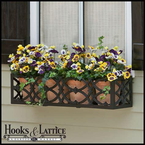 window garden box powder coated aluminum planter baton aluminum