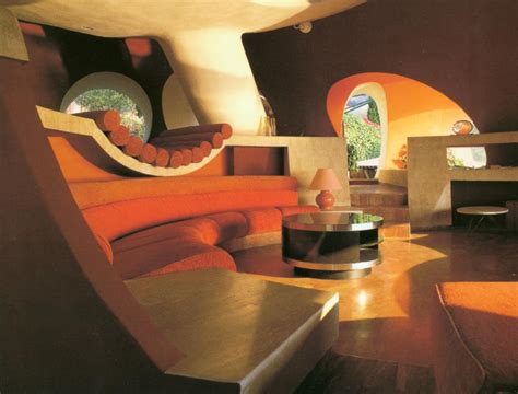 home furniture interior the palais bulles of cardin by architect antti