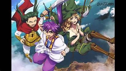 Magi Sinbad Anime Magic Adventures Yunan Wallpapers