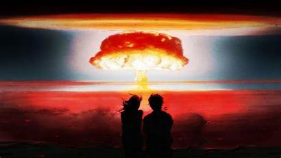 Mushroom Cloud Nuclear Wallpapers Explosion End Cave