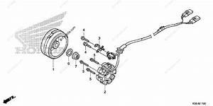 Honda Motorcycle 2007 Oem Parts Diagram For Alternator