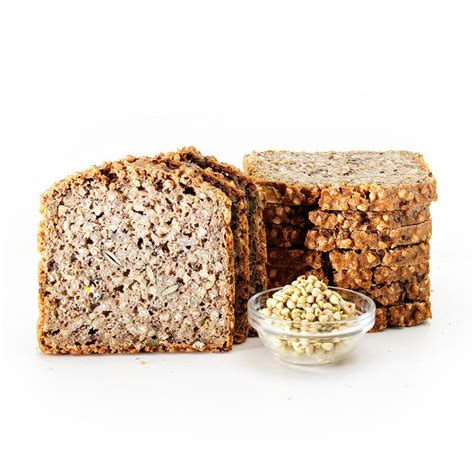 Adapted from breads of the world. 9 x Organic Buckwheat & Linseed Sprouted Bread - Sliced ...