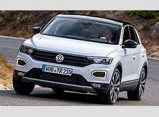 Neuer VW TRoc 2017 Erste Testfahrt Update