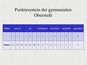 Oberstufe Punkte Berechnen : struktur und organisation der gymnasialen oberstufe ppt herunterladen ~ Themetempest.com Abrechnung