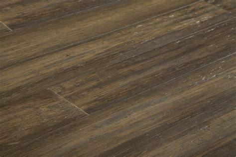 Yanchi Antique Handscraped T&g Solid Strand Woven Bamboo Flooring Antique Brass 9/16