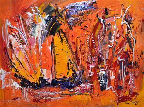 le de wood peinture artiste peintre contemporain ame sauvage peintures abstraites