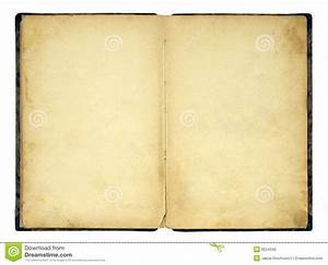 Open Old Blank Book Royalty Free Stock Images - Image: 8534349