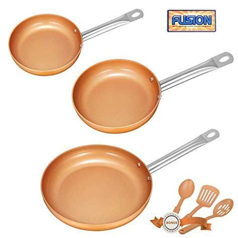 deik frying pan set  stick chef pan copper pan