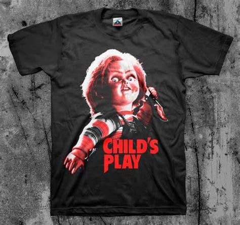childs play chuckie   black shirt